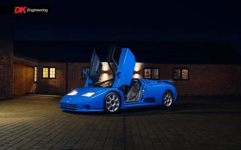 The Bugatti EB110 SS Is Special In Its Own Right, But This One Has An Interesting Story