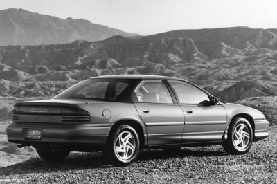 The Dodge Intrepid Was a Stealthily Disguised Mitsubishi 3000 GT With the Engine in the Middle
