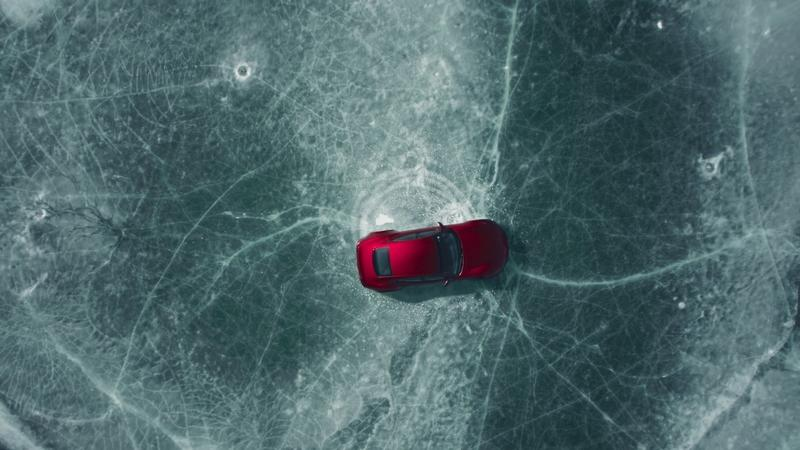 The Drako GTE On Ice - Pure Motion Art At Its Finest