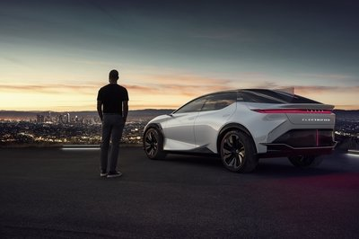 The Lexus LF-Z Makes the Future Look More Exciting