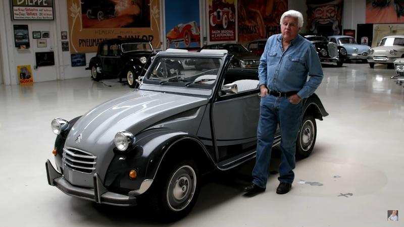 This 1967 Hoffman Citroen 2CV In Jay Leno's Garage Is As Cool As it is Gorgeous
