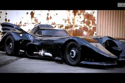 This 90-Foot Replica of Tim Burton's 1989 Batmobile Actually Works