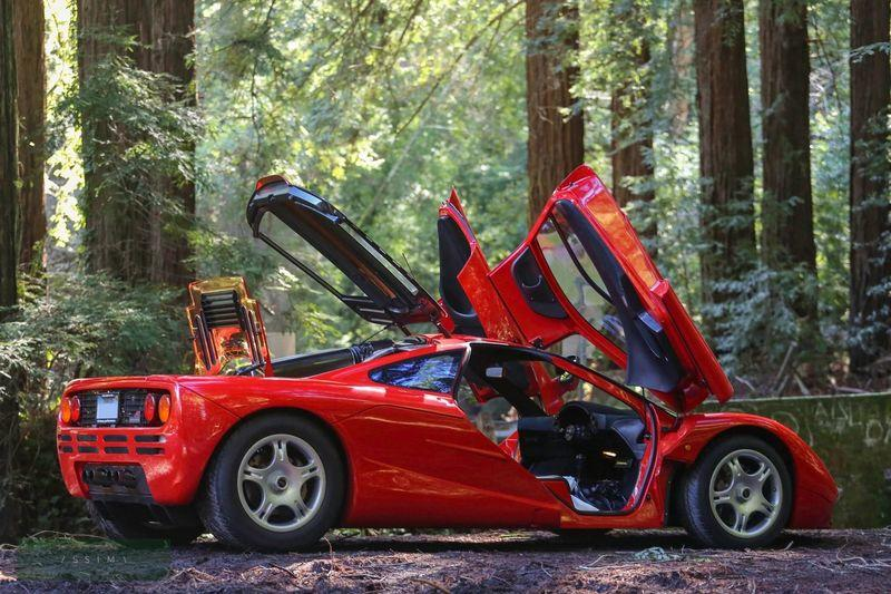 This Extremely Rare and Mint McLaren F1 is Just 1 of 7 Sold New In The U.S. Exterior - image 974616