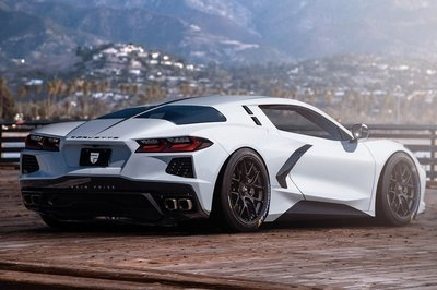 This Split-Window Chevy C8 Corvette Rendering Proves Chevy Can Do Better