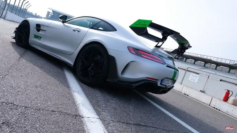You Have to Check Out The TIKT AMG GT R Pro at Hockenheim