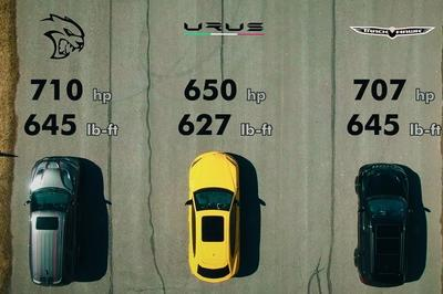 Can The Lamborghini Urus Stand Up Against The Likes Of The Dodge Durango SRT Hellcat and The Jeep Grand Cherokee Trackhawk?