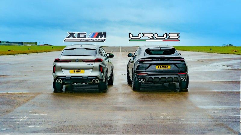 Does The BMW X6M Stand A Chance Against The Lamborghini Urus?