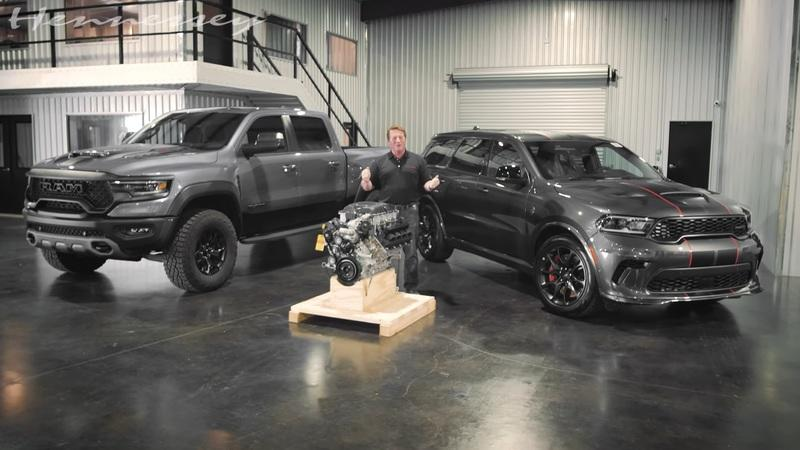 Hennessey Wants To Give The Ram TRX and Durango SRT A Hellephant Swap
