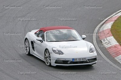 New Evidence Hints That The Four-Cylinder Porsche 718 Spyder Could Be Offered In Europe and the US