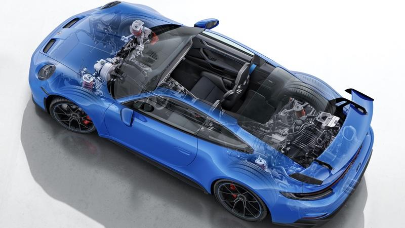 Porsche Spent 3,100 Miles At Full Throttle Trying to Make The New 911 GT3 Fail Exterior High Resolution - image 981957