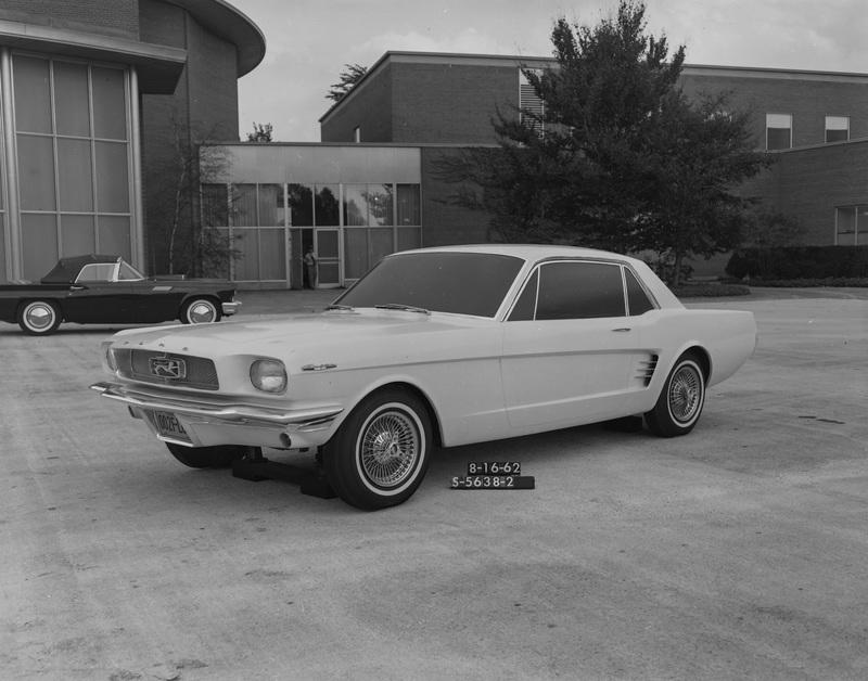 The Original Ford Mustang Could Have Looked A Bit Different