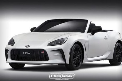 This 2022 Toyota GR86 Convertible Is Strangely Attractive