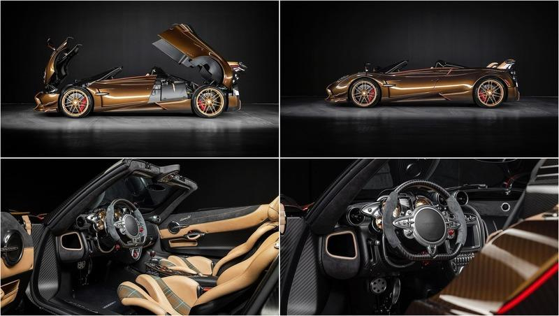 "This Bespoke Pagani Huayra BC Roadster ""Supernova"" Is The Definition of Sexy"