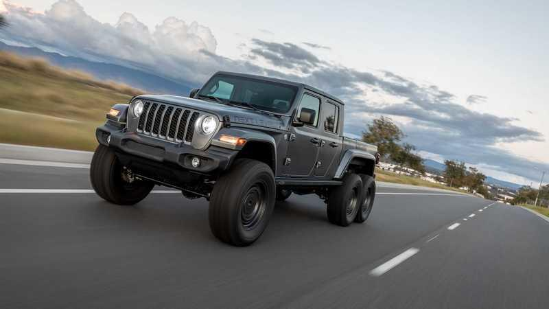 This Jeep Gladiator 6x6 Looks Armageddon-Ready
