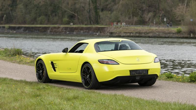 This Mercedes SLS AMG EV Is Just 1 of 9 Made - Here's What You Need to Know Exterior - image 985849