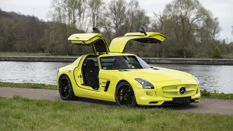 This Mercedes SLS AMG EV Is Just 1 of 9 Made - Here's What You Need to Know Exterior - image 985837