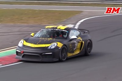 This Porsche Cayman GT4 Clubsport Sounds Orgasmic On The Track