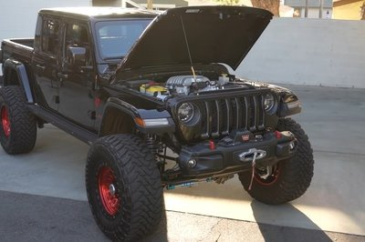 This 'Possessed' Jeep Gladiator Has An 850-Horsepower Dodge Demon V-8 Under The Hood!