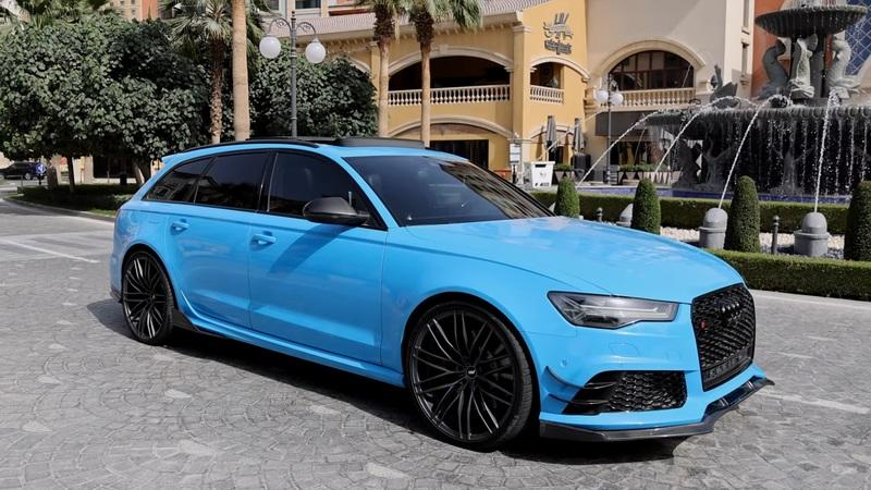 This Tastefully-Customized Audi RS6 Avant Shows You Why Wagons Shouldn't Be Taken For Granted