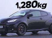 Watch The Toyota GR Yaris Absolutely Destroy The Yaris GRMN On A Drag Strip - image 986213