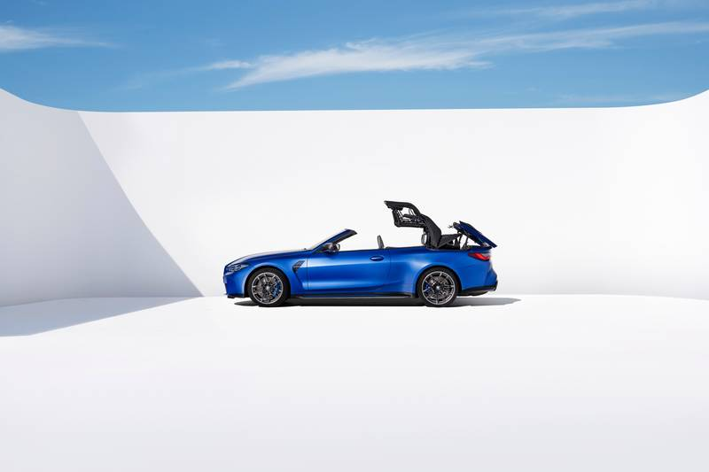 2022 BMW M4 Competition Convertible M xDrive Exterior - image 991051