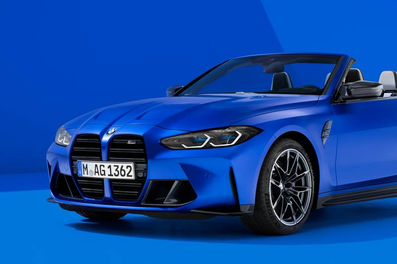 2022 BMW M4 Competition Convertible M xDrive Exterior - image 991027