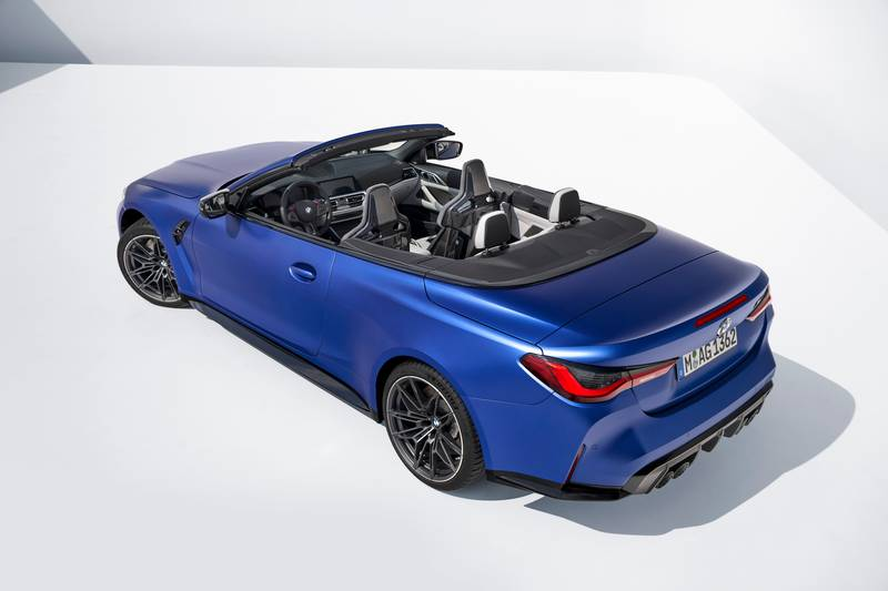 2022 BMW M4 Competition Convertible M xDrive Exterior - image 991067