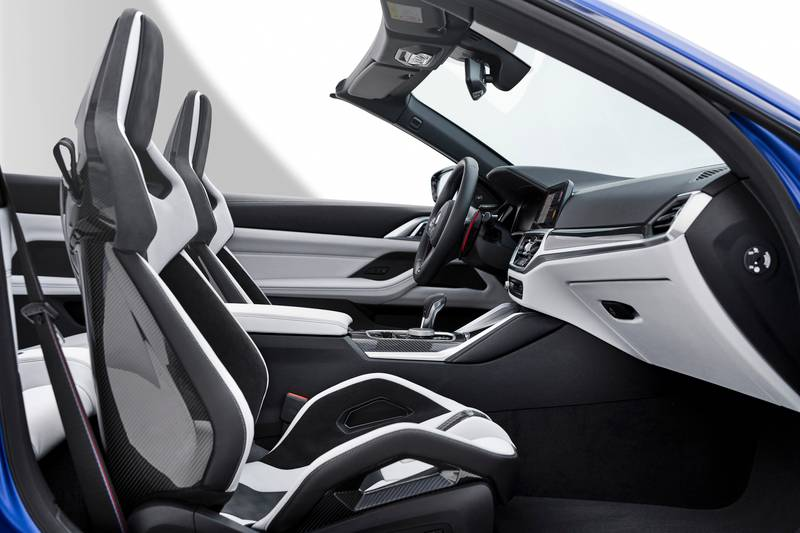 2022 BMW M4 Competition Convertible M xDrive Interior - image 991091