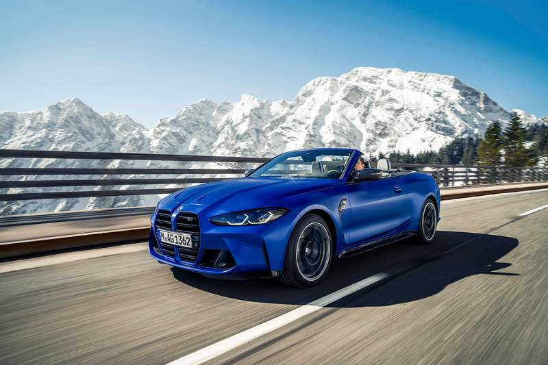2022 BMW M4 Competition Convertible M xDrive Exterior - image 991110