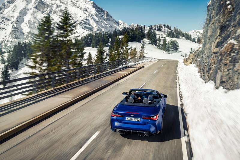 2022 BMW M4 Competition Convertible M xDrive Exterior Wallpaper quality - image 991111