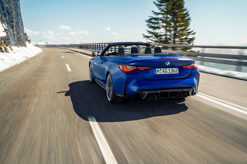2022 BMW M4 Competition Convertible M xDrive Exterior - image 991116