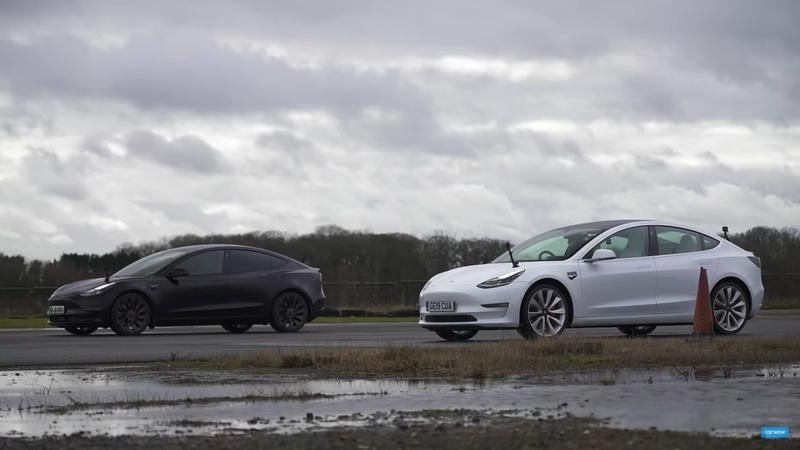 Can An Old Tesla Model 3 Beat The New Model 3?