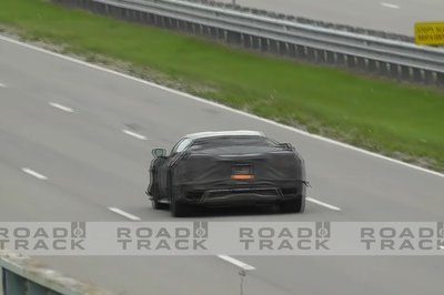Chevy Was Caught Testing the C8 Corvette Z06's Launch Control System