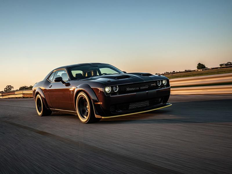 2021 Dodge Challenger SRT Super Stock HPE1000 by Hennessey