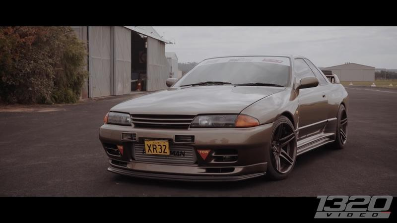 Someone Put A Ford Engine In A Nissan Skyline GT-R!?!?
