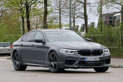 This BMW M5 Test Mule Raises A Lot Of Questions