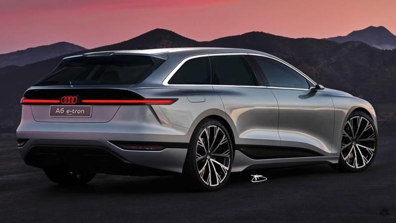 The Audi A6 E-Tron Could Become the Electric Wagon 2025 Needs