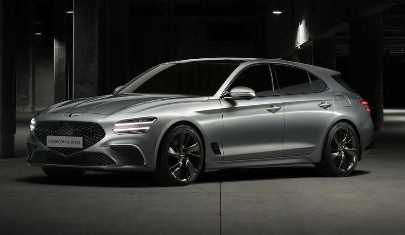 The Genesis G70 Shooting Brake Is A Tasty Piece of Forbidden Fruit