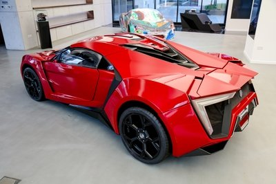 The Sole Surviving Lykan HyperSport Stunt Car From Fast and Furious 7 Is Being Auctioned