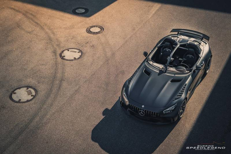 This Hand-Made AMG GT R Speedster Is Beyond Rare Exterior - image 990716