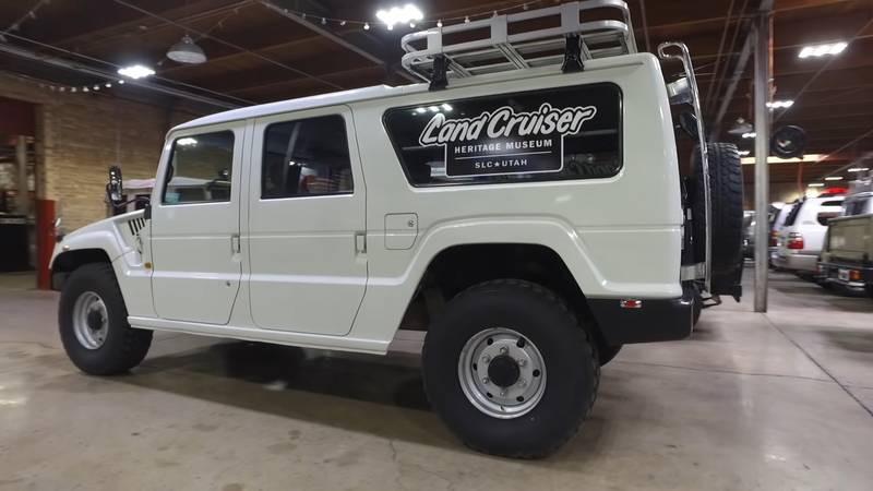 Watch this Civilian Toyota Mega Cruiser in-depth review - image 991415