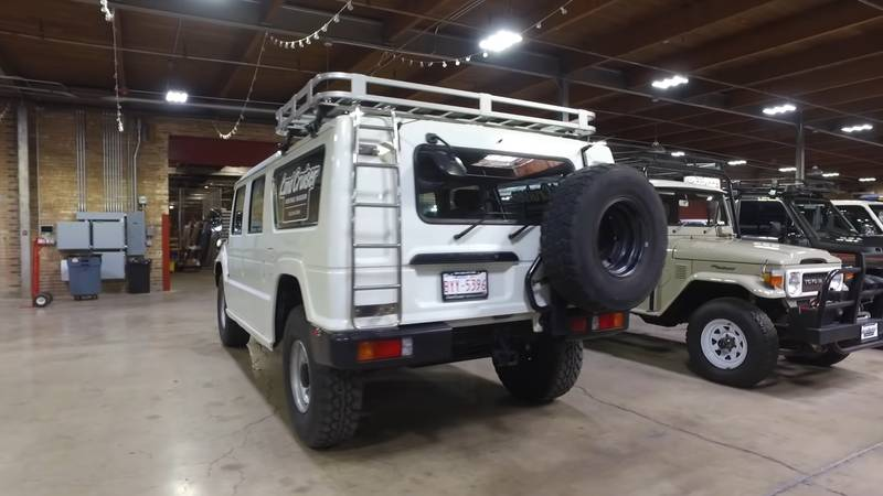 Watch this Civilian Toyota Mega Cruiser in-depth review - image 991416