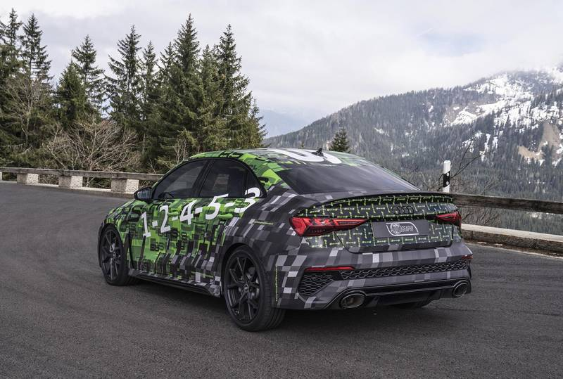 A Closer Look At the 2022 Audi RS3 Exterior - image 994805