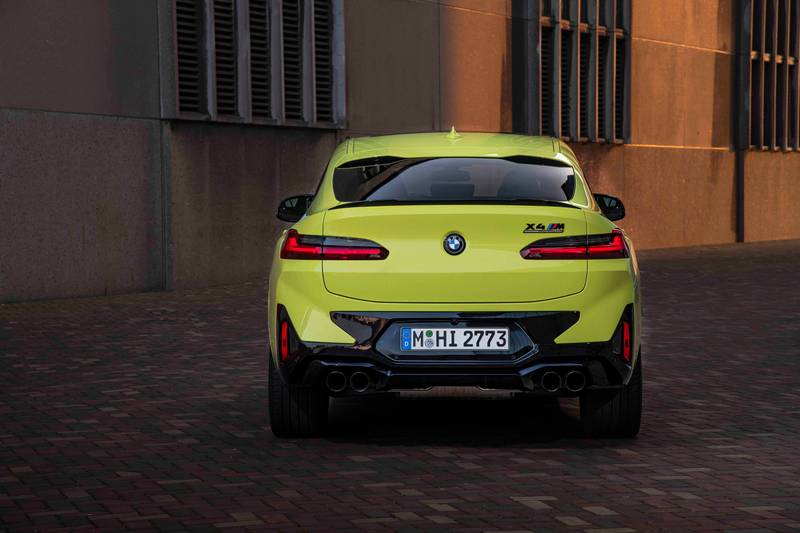 2022 BMW X4 M and X4 M Competition Exterior - image 993882