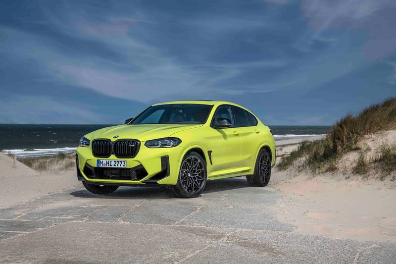 2022 BMW X4 M and X4 M Competition Exterior - image 993884
