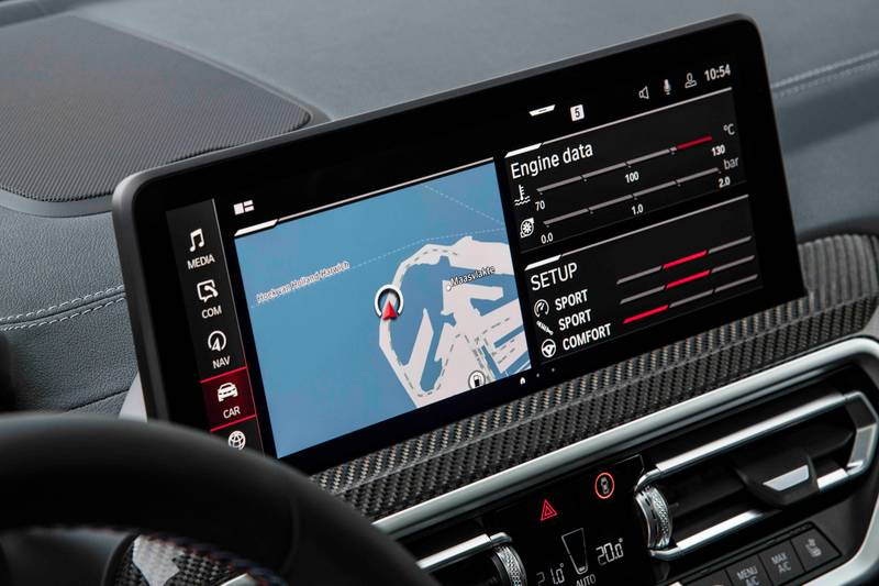 2022 BMW X4 M and X4 M Competition Interior - image 993869