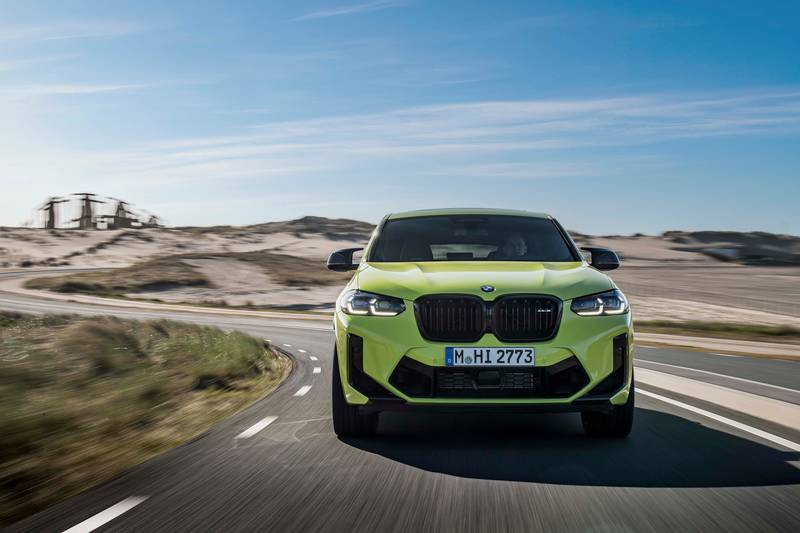 2022 BMW X4 M and X4 M Competition Exterior - image 993890