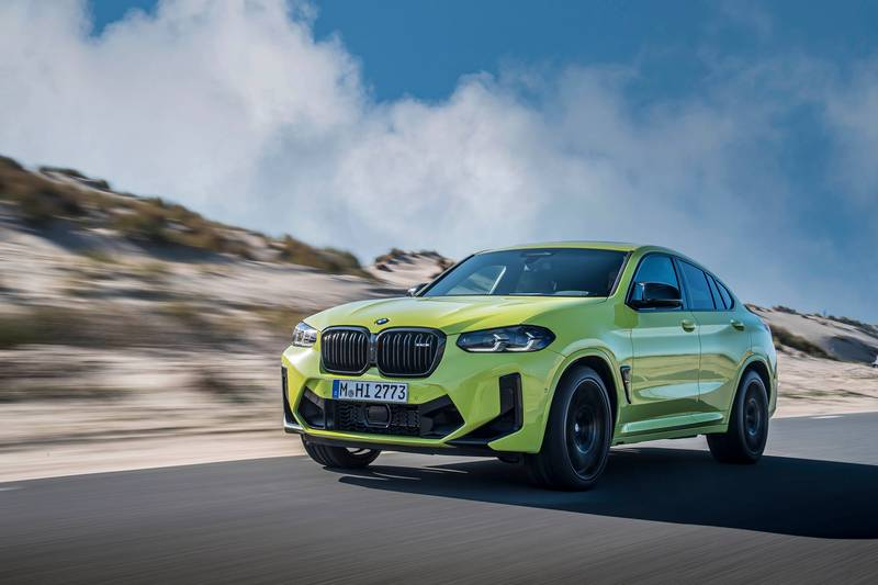 2022 BMW X4 M and X4 M Competition Exterior - image 993892