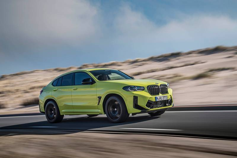 2022 BMW X4 M and X4 M Competition Exterior - image 993895