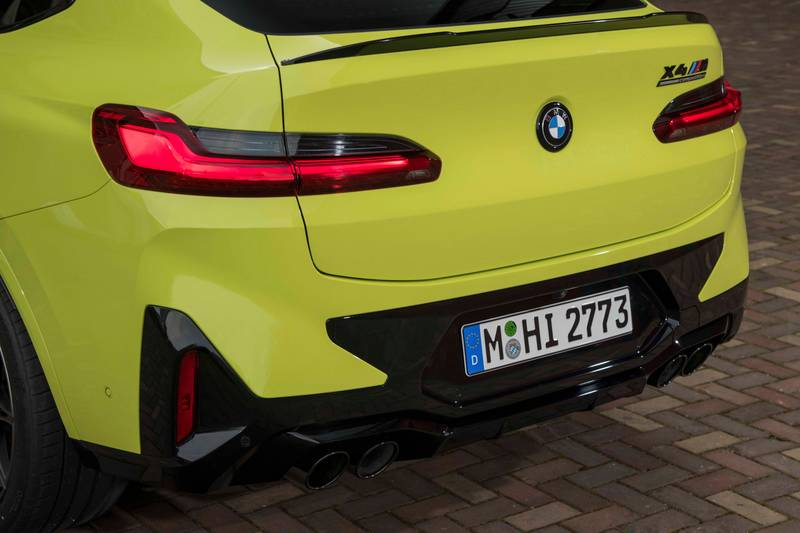 2022 BMW X4 M and X4 M Competition Exterior - image 993902